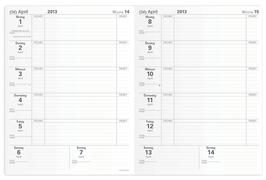 Magister 21x27cm Kalender-Einlage - Quo Vadis Lehrerkalender 2020/2021