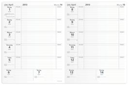 Akademiker 10x15cm Kalender-Einlage - Quo Vadis Lehrerkalender 2019/2020