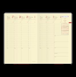 Minister Prestige 16x24cm Kalender-Einlage - Quo Vadis Kalender 2020