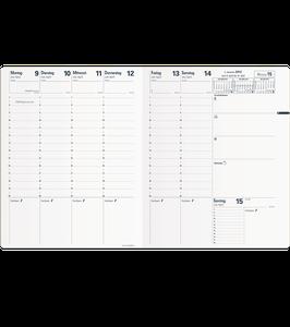 Trinote 18x24cm Kalender-Einlage mit Goldschnitt - Quo Vadis Kalender 2022