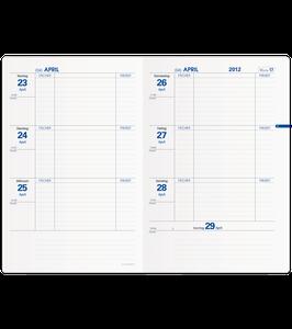 Texthebdo 16x24cm Kalender-Einlage - Quo Vadis Lehrerkalender 2020/2021