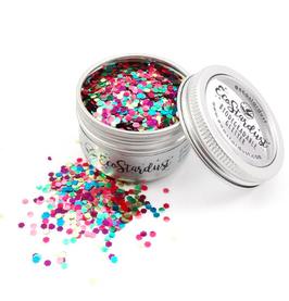 EcoStardust Festive Biodegradable Trio-Glitter, Balm, Brush Set
