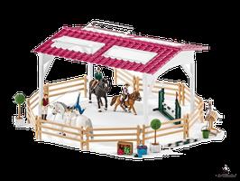 Schleich Reiterschule mit Reiterinnen (42389)