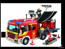 Playmobil City Action Löschgruppenfahrzeug (5363)