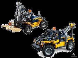 Lego Technic Schwerlast-Gabelstapler (42079)