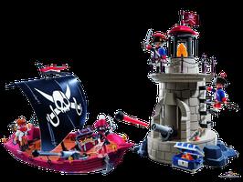 Playmobil Pirates Piratenschiff mit Turm (9522)