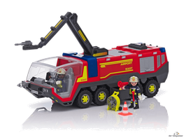 Playmobil City Action Flughafenlöschfahrzeug (5337)