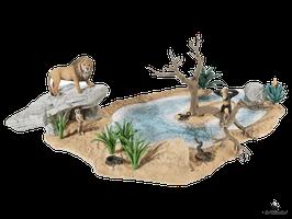 Schleich Wasserstelle Wild Life (42258)