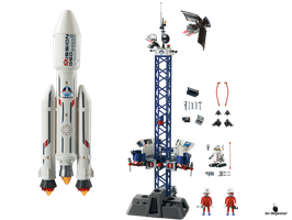 Playmobil City Action Weltraumrakete (6195)
