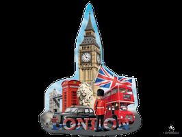 Silhouette Puzzle Big Ben London (16155)