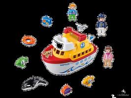 Playmobil 1.2.3 Mein Schiff zum Mitnehmen (6957)