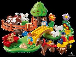 Playmobil 1.2.3 Familie Landausflug (6770)