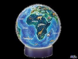 3D Puzzle Nachtlicht Puzzle-Ball Erde bei Nacht (11844)