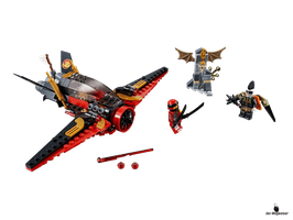 Lego Ninjago Flügel-Speeder (70650)