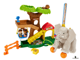 Fisher-Price Little People Maxi - Tierwelt Zoo
