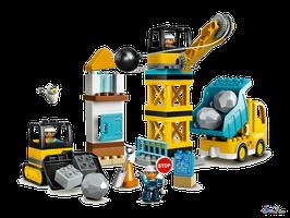 Lego Duplo Baustelle mit Abrissbirne (10932)
