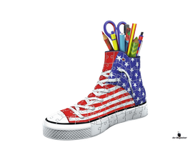 3D Puzzle Sneaker American Style (125494)