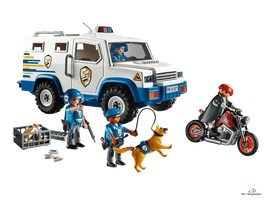 Playmobil City Action Geldtransporter (9371)