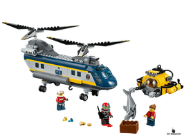 Lego City Tiefsee-Helikopter (60093)