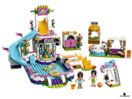 Lego Friends Heartlake Freibad (41313)