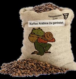 Kaffee Arabica Doppelte Röstung