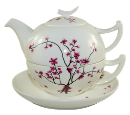 Tea for One Set Cherry Blossom 0,5L