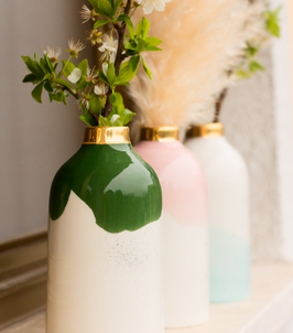 Vase / soliflore en céramique