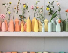 Grand vase en céramique en forme de bouteille ménagère - Plusieurs modèles