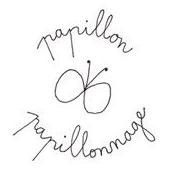 Carte postale simple Papillonnage