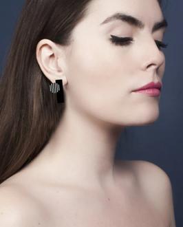Boucles d'oreilles en plexiglas