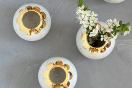 Vase rond en céramique