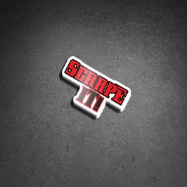 SCRAPE IT! - Sticker (1 Stück)