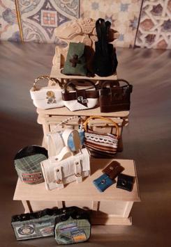 """EF088 Ladenset """"Taschenladen"""" 14-teilig ohne Möbel"""