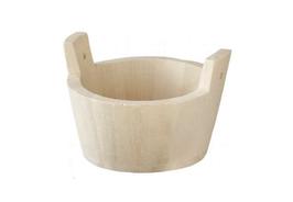 EF061 GK Rustikale Badewanne/Waschzuber aus Holz 10cm Durchmesser