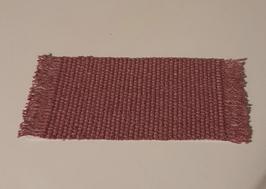 EF003 Teppich 8x19cm DUNKELROSA