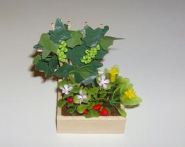 "EF1801 Gartenmodul 11 ""Obstbeet"" 4x4,5cm"