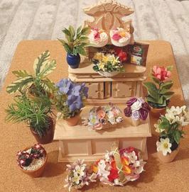 "EF033 Ladenset ""Blumenladen 1"" 15-teilig ohne Möbel"