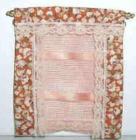 """EF2004 Vorhang, Gardine """"Komplettdekoration"""" 11cm hoch"""