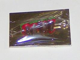 EF084 Erdbeeren am Spieß in Schokolade verpackt 3x2cm