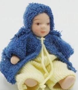 EF011 GK Baby BUB, aus Porzellan 5cm hoch