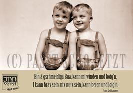 """Magnetsticker A7 """"Windn und boign"""""""