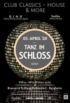 "Ticket ""THIRTY + THIRSTY"" - Party / Freitag, 03.04.2020 (EARLY BIRD)"
