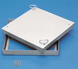 Schachtabdeckung aus Edelstahl für wählbarer Oberfläche