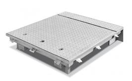 Preisanfrage für Schachtabdeckung mit Hebehilfe befahrbar 400 kN mit Riffelblechdeckel gem. Auswahl unten