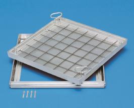 Schachtabdeckung aus Aluminium für wählbare Oberfläche
