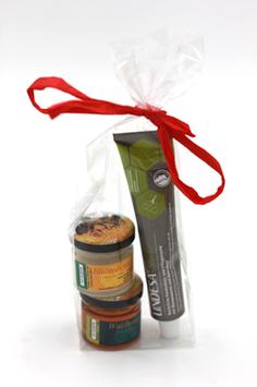 3er - Geschenkset Honig und Lindesa Natur