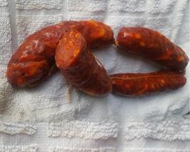 Salsiccia piccante 250/350 gr circa