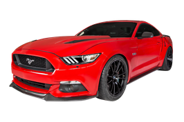 Mustang Carbon Fiber Front Spoiler GT