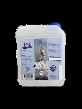 Pegasalt-Sole 5 % mit Salz vom Toten Meer 2500 ml