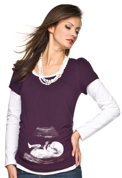 "Torelle Maternity Blouse ""Bonita"" - Purple"
